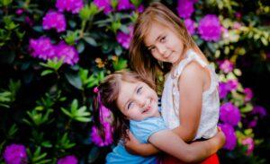 Kinderfotografie twee zusjes