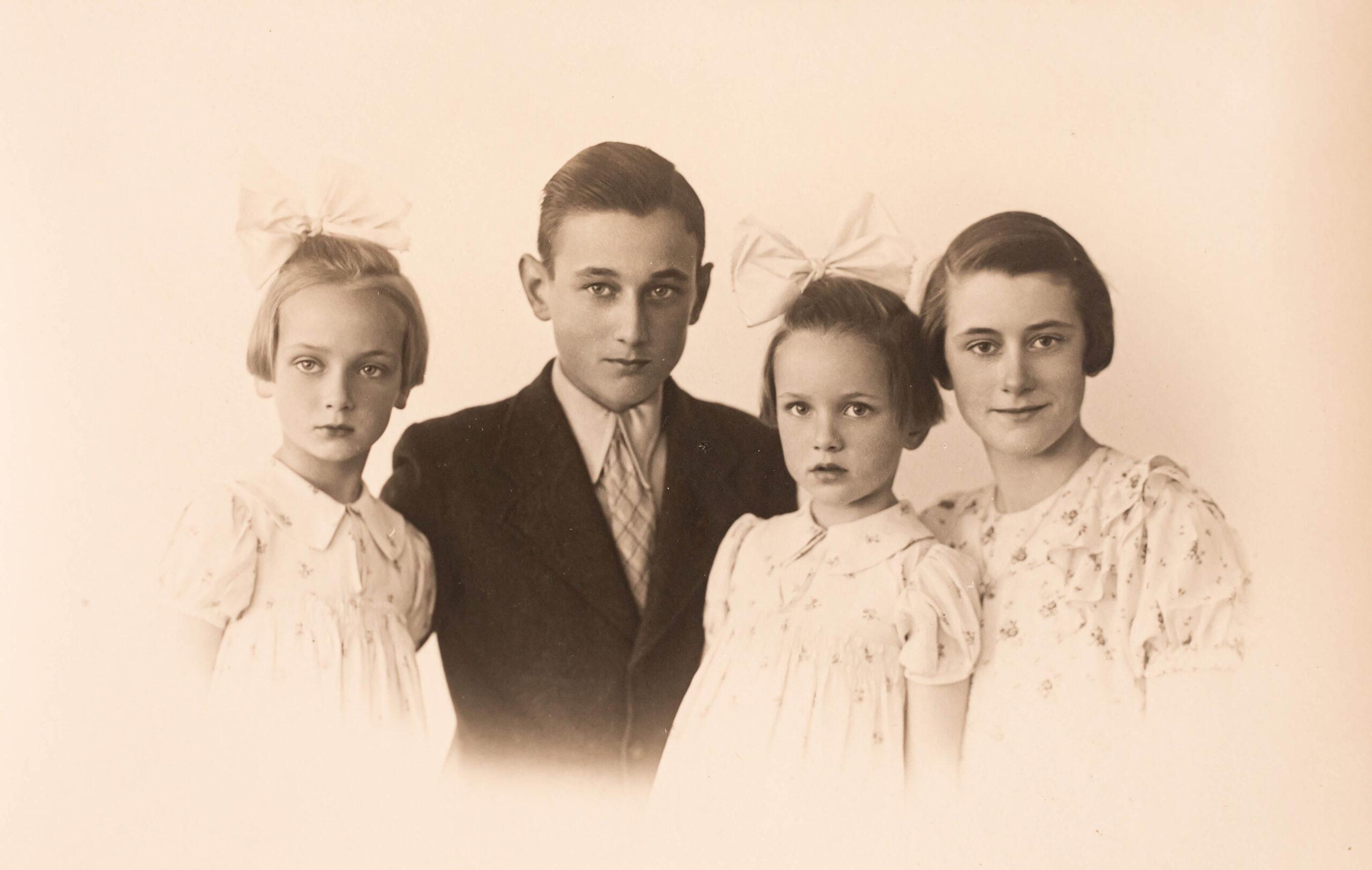 oude familiefoto's, Marloes Sahin