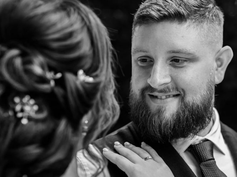 Bruidegom liefde huwelijk