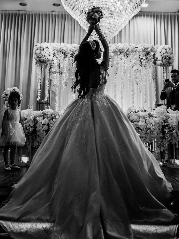 bruidsfotografie in de zaal